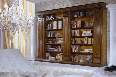 librerie classiche legno librerie classiche in legno su misura