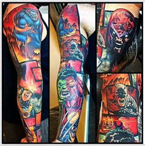 comic book tattoo designs comic tattoos i like