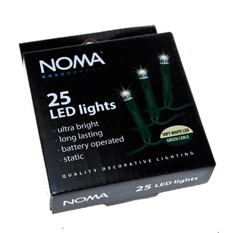 noma 1 9m length of 25 soft white indoor static led