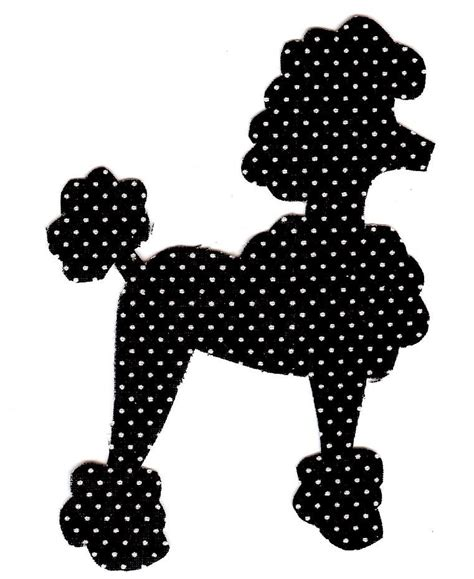 poodle applique template search results for printable poodle templates calendar