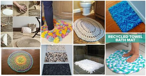 How To Make A Bathroom Rug Diy Bathroom Rugs On A Budget Picture