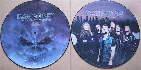 Iron Maiden Brave New World Picture Disc Vinyl totally vinyl records iron maiden brave new world lp
