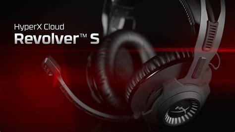 Hyperx Cloud Revolver S Gaming Headset Dolby 7 1 gaming headset with dolby 7 1 surround sound hyperx cloud revolver s