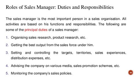 Sales Executive Responsibilities by Sales And Distribution Management An Introduction
