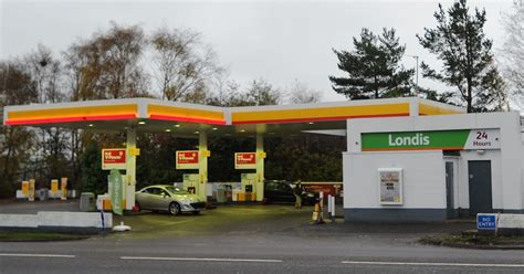 Local Shell Garage by Londis Within Shell Garage In Newmains Given Green Light