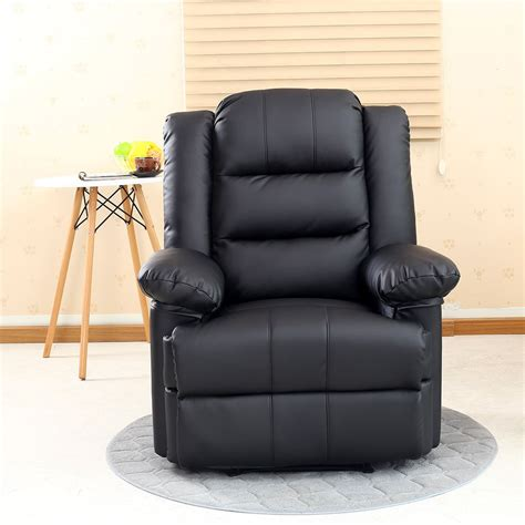 recliner armchair leather madison leather recliner armchair sofa home lounge chair