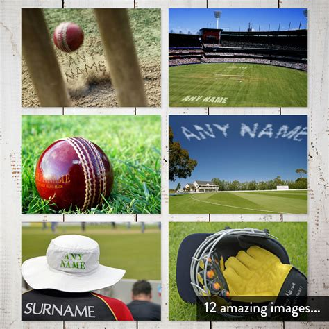 Cricket Calendar Personalised Cricket Calendar 1st Edition