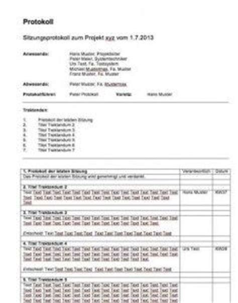 Template Protokoll Vorlage Arbeitszeugnis Vorlage Muster Und Vorlagen