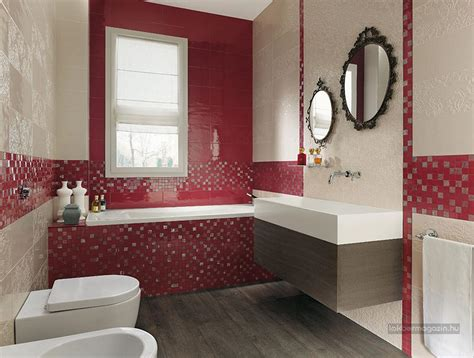 small red bathroom ideas l 225 tv 225 nyos sz 237 nes csemp 233 k sz 233 p modern f 252 rdőszob 225 k