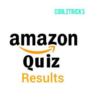 amazon quiz winner all amazon quiz results winners list of all amazon quiz