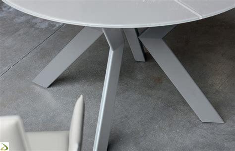 tavolo rotondo allungabile design tavolo rotondo allungabile vitrix arredo design