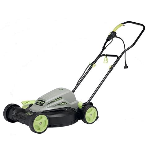 Home Depot Push Mower by Lawnmaster 18 In 10 2 In 1 Walk Corded