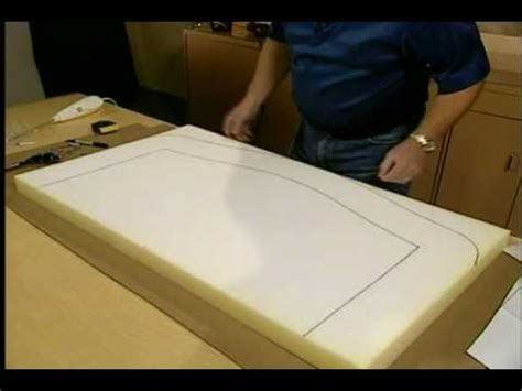 diy upholstery foam upholstery diy episode 2 designer headboards youtube