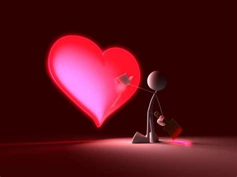 wallpaper 3d love hearts 3d love heart wallpaper funny graphic
