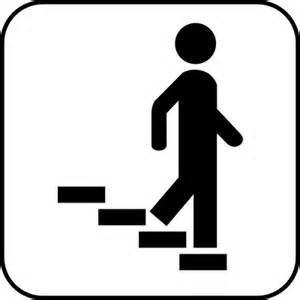 treppe piktogramm symbol schilder quot treppe rechts abw 228 rts quot piktogramme