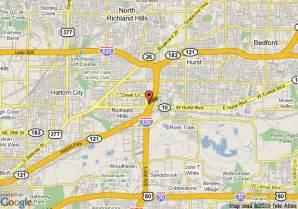 map hurst map of americas best value inn suites hurst