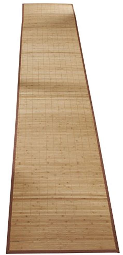 Bamboo Floor Mat Runner by Bamboo Rug Runner Mat 23 X 118 Floor Kitchen Carpet