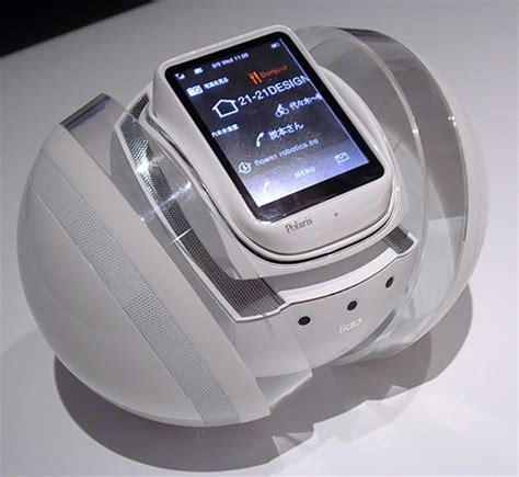 Alarm Mobil Polaris polaris concept phone is like the roomba but doesn t