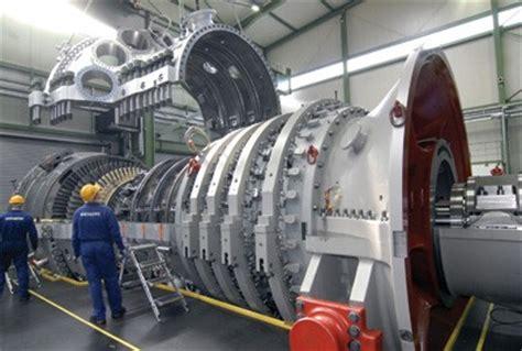 siemens to supply gas fired turbines generators