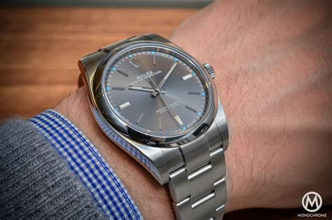 Rolex Oyster Perpetual 39 by On Review The 2015 Rolex Oyster Perpetual 39mm