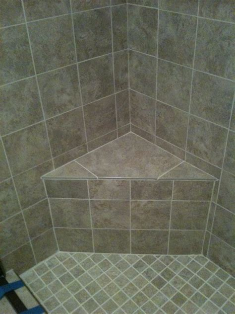 how to build a corner shower bench tile archives page 4 of 8 vip services painting