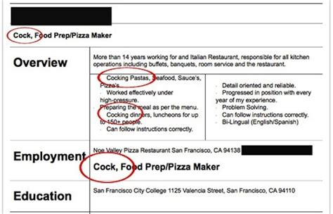 Funny Job Resumes by The 10 Worst Resumes The Employers Have Ever Seen
