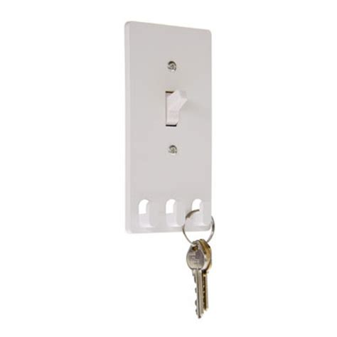 security light switch key switch hooks light switch cover with key hooks the