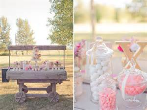 blog rustic shabby chic outdoor wedding ideas