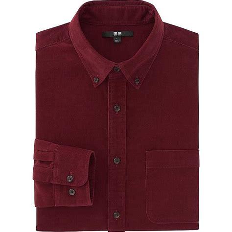 corduroy sleeve shirt uniqlo us