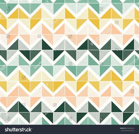 zig zag triangle pattern seamless dots geometric triangle zigzag pattern stock