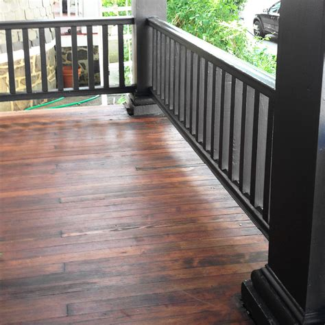 diy remove paint refinish front porch wood flooring