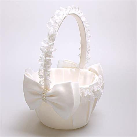 Flower Wedding Basket by Flower Baskets For Wedding