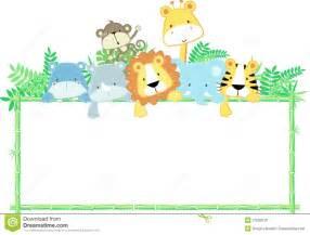 baby animals frame royalty free stock photos image 27099378