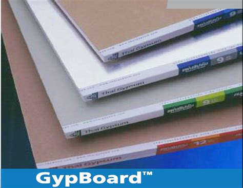 Bor Gypsum products