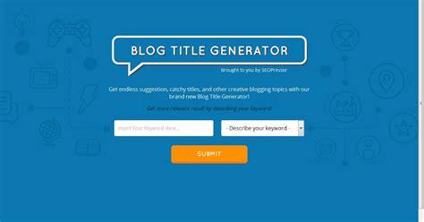 Essay Title Generator by My Best Essay Generator Essay Title Generator