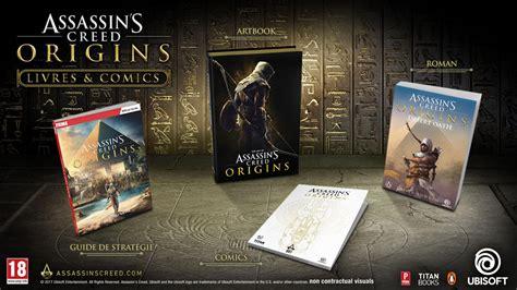 libro assassins creed origins collectors de la lecture pour assassin s creed origins