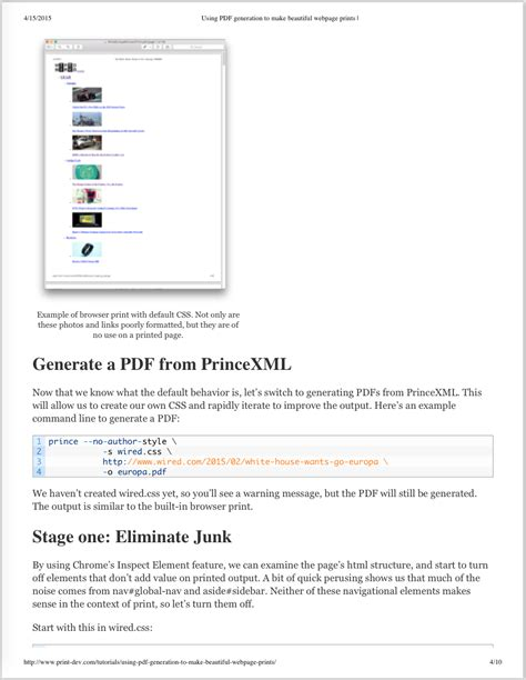printable html css hp developer portal printing with css and media queries