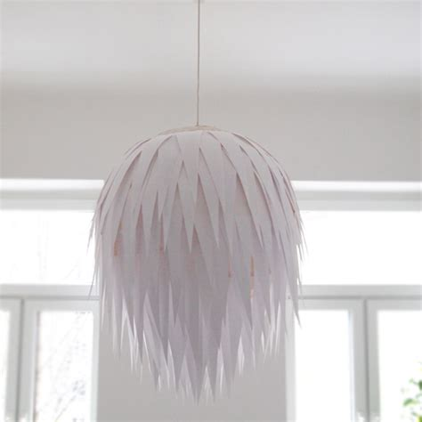 How To Make A Lshade Out Of Paper - diy artichoke l shade design and paper