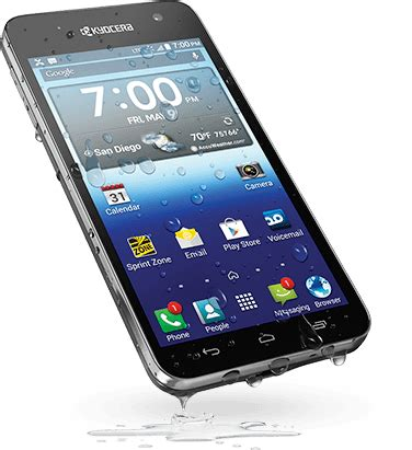 kyocera android kyocera hydro vibe from sprint getting the android 4 4 update