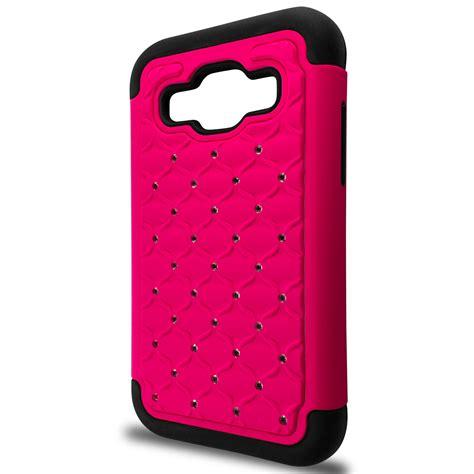 cute themes for samsung j1 cute diamond bling hybrid phone cover case for samsung