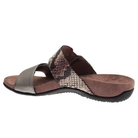 vionic sandal sale adjustable slide on sandal by vionic at walk in style