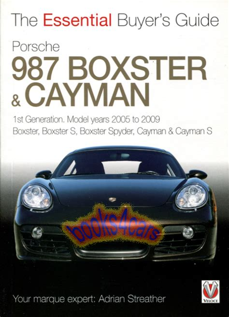 Porsche Boxster Buyers Guide by Porsche Manuals At Books4cars