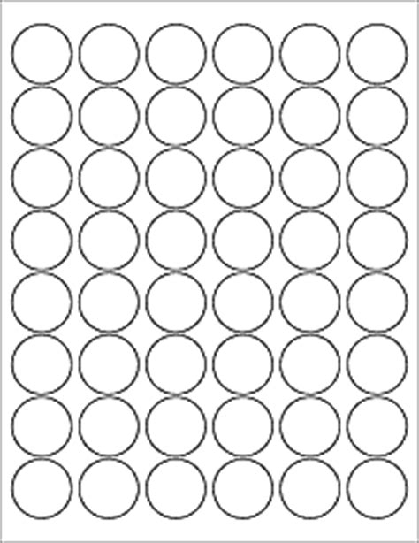 "Download Label Templates   OL6000   1.2"" Circle Labels"