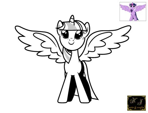 free coloring pages of princess twilight sparkle