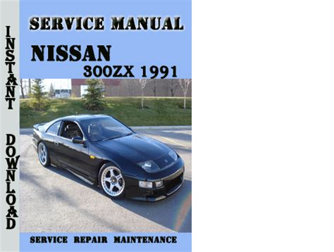 chilton car manuals free download 1991 nissan 300zx parking system 300zx manual download