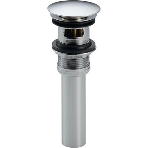 home depot sink stopper everbilt plastic 2 piece pop up assembly c756 1 the home