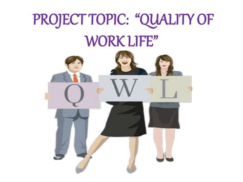 Mba Project On Quality Of Worklife by Quality Of Worklife Of Hr