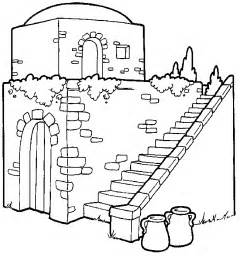bible house msss colouring page