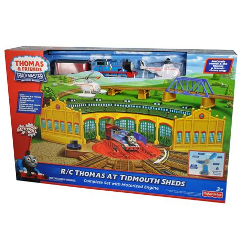 Trackmaster Tidmouth Sheds Playset by And Friends Trackmaster Motorized Railway Playset