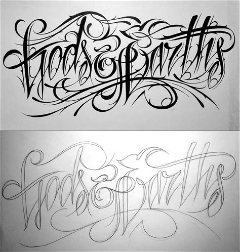 tattoo lettering inspiration inspiration calligraphy